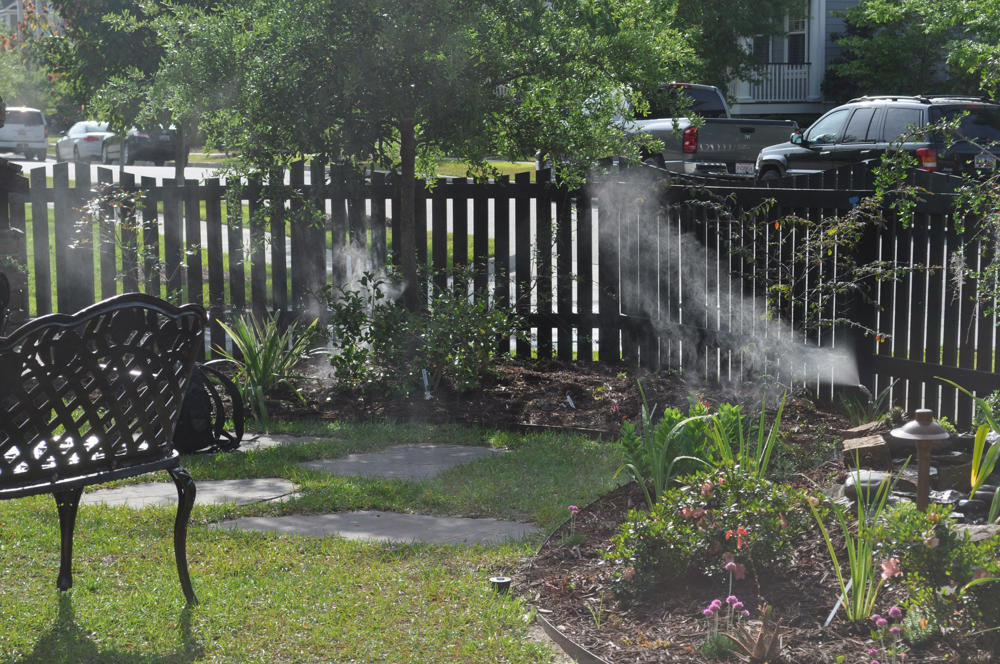 misting-system---designing; mist to keep mosquitoes away